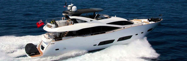 "Sunseeker 28 Metre Yacht ""TOMMYBELLE"" listed by Sunseeker London"