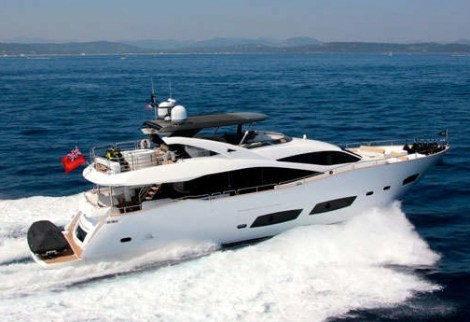 "Sunseeker London have been appointed Central Agents for the Sunseeker 28 Metre Yacht ""TOMMYBELLE"""