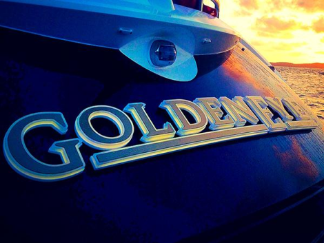 """""""GOLDENEYE"""" is a very special example of the popular Portofino 48 cruiser, completed with numerous interior and exterior upgrades"""