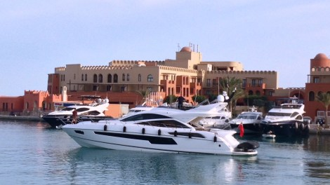 """Sunseeker Egypt have handed over the new Sunseeker 68 Sport Yacht """"FAFY"""" in El Gouna"""