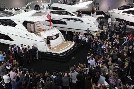 The 2015 CWM FX London Boat Show has seen an excellent level of enquiries and visitors to the Sunseeker stand