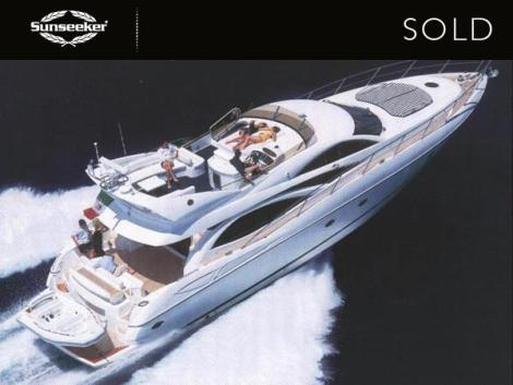 "Andrew Thomas confirmed the sale of the Sunseeker Manhattan 64 ""RADIO DAYS III"" in December"