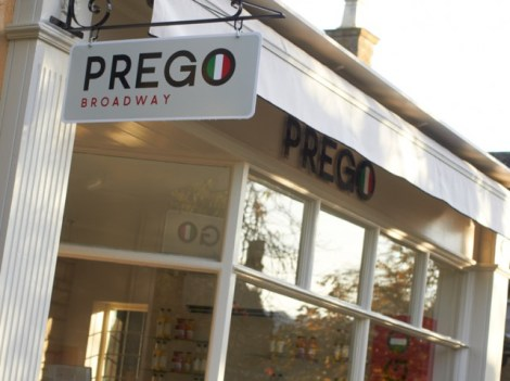 EAT: Prego, 32 High Street, Broadway, Worcestershire, WR12 7DT