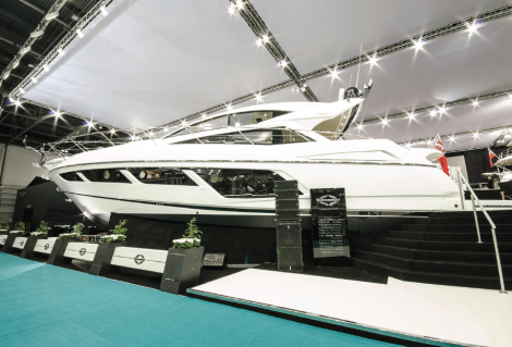 The Sunseeker Predator 57 makes its World Debut at the 2015 London Boat Show