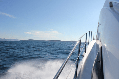 The Sunseeker Predator 52's excellent seakeeping abilities were evident throughout the journey, with some testing conditions at times