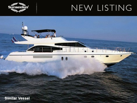 "Sunseeker Cannes list stunning Guy Couach 195 Fly ""ORPHEE"", asking €775,000 Tax Paid"
