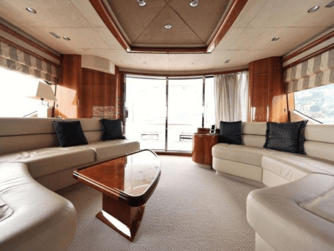 """WHITE GOLD"" boasts a custom Saloon layout"