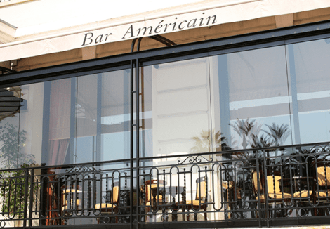 DRINK: Le Bar American, Hôtel de Paris Monte-Carlo, Place du Casino, MC 98000, Monaco
