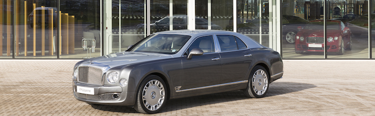Sunseeker Cheshire attend Bentley Motors test drive day and factory tour