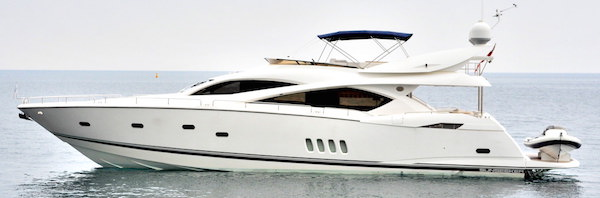 "Sunseeker Poole announce listing of Sunseeker 82 Yacht ""WHITE GOLD"""