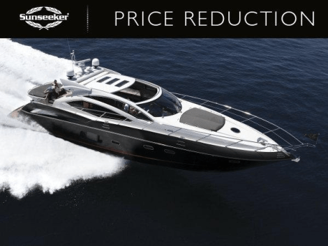 "Sunseeker Poole announce significant price reduction for Sunseeker Predator 64 ""KASIA II"""