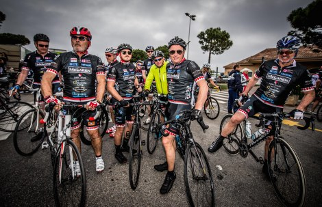 Our own Sunseeker London Group members joined friends and clients to take part in the charity cycle