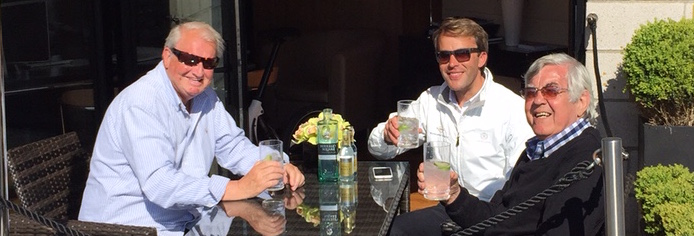 Gin and Tonics all round at Sunseeker Torquay!