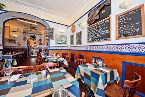 EAT: No.7 Fish Bistro, 7 Beacon Terrace, Torquay, Devon, TQ1 2BH