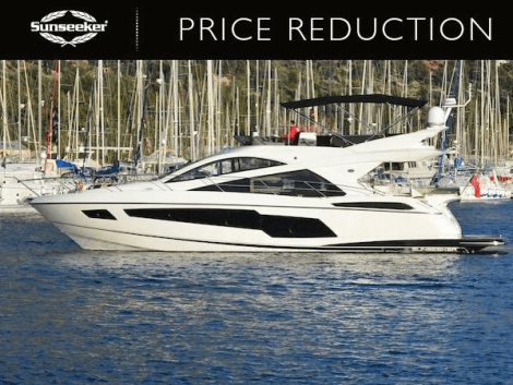 """Price reduction announced on 2014 Sunseeker Manhattan 55 """"ORCHID"""""""