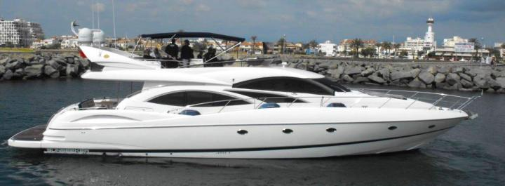 Sunseeker Spain complete on Dealer Approved Sunseeker Manhattan 74