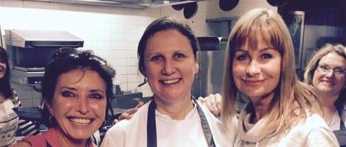 Sunseeker London enjoys Angela Hartnett Master Class in support of Wipe Away Those Tears Charity