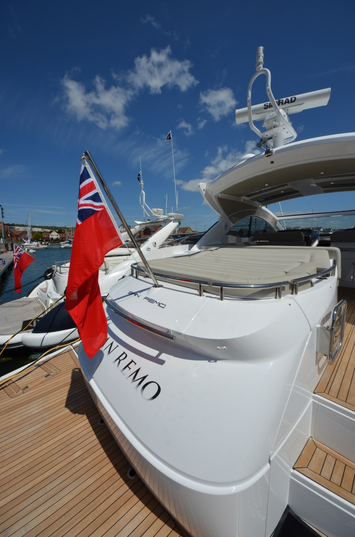 Sunseeker Southampton success during the Port Solent New and Used Boat Show 2015