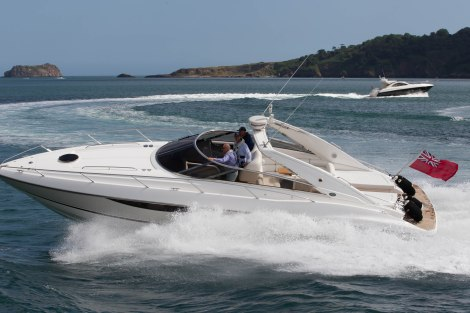 Word of the Rendezvous quickly spread, with over 20 boats joining Sunseeker Torquay