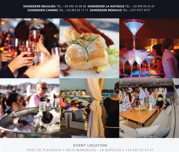 Sunseeker Summer Nights is launched by Sunseeker France and Sunseeker Monaco
