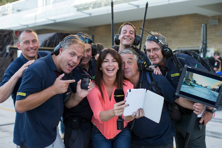 Suzi Perry and Callabro will launch the Sunseeker stand at the Southampton Boat Show Friday 11th September