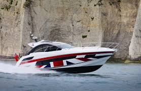 BRITAIN IS GREAT: At this Southampton Boat Show with Sunseeker