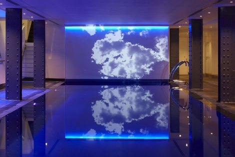 18 metre swimming pool at the Health Club
