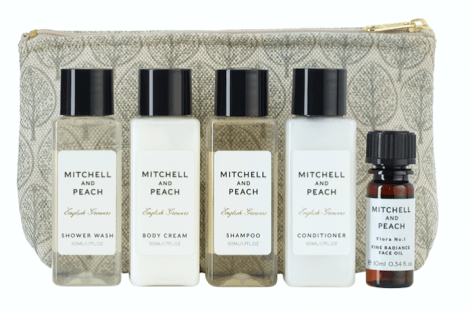 Mitchell and Peach are now releasing a Luxe Travel set, RRP at £25.00