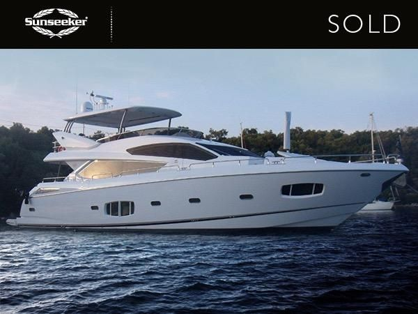 Sunseeker Hellas announce the successful sale of Predator 62 'GAGEDS' and Yacht 80 'CAPRICE'