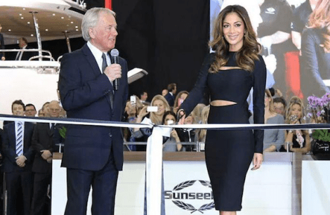 World superstar Nicole Scherzinger launched the Predator 57 and opened the Sunseeker stand on the first day of the London Boat Show 2015