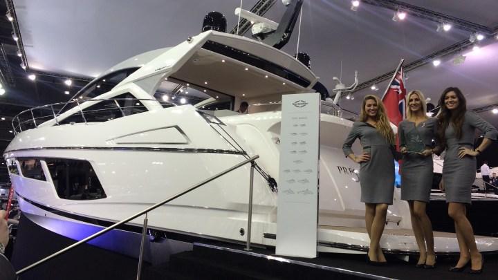 WINNER! Sunseeker Predator 57 awarded Best Sports Cruiser