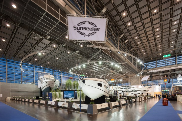 Sunseeker Group represents at the Dusseldorf Boat Show, 23rd-31st January 2016