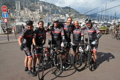 The COCC Sunseeker London Group cycling team 2016
