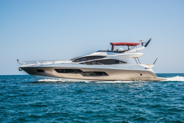 Sunseeker France announce the start of the Spring Pop-Up campaign showcasing the Sunseeker 80 Sport Yacht HARMONY