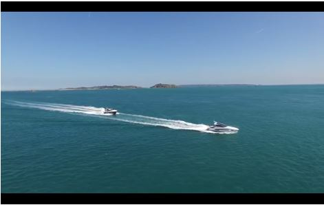 SUNSEEKER VIDEO: Watch the Sunseeker San Remo and Predator 57 cruise on a beautiful day in the UK to attend the ultimate Gold Ticket Event