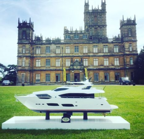 Nestled within the 7,000 acres of the magnificent estate that is now synonymous with Downton Abbey, guests at the Starlight Shooting Challenge could enjoy the beautiful surroundings of the Highclere castle