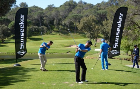 """The golf tournament itself was a great success and the charity auction raised generous donations for """"Tous Derrière Léa"""""""