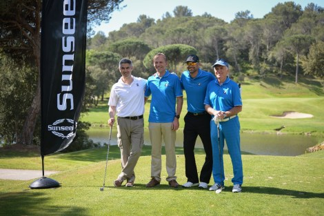 A beautiful and sunny day on the Saint Endréol golf course awaited the participants of the Golfoot tournament