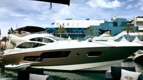 The Sunseeker 80 Sport Yacht Harmony