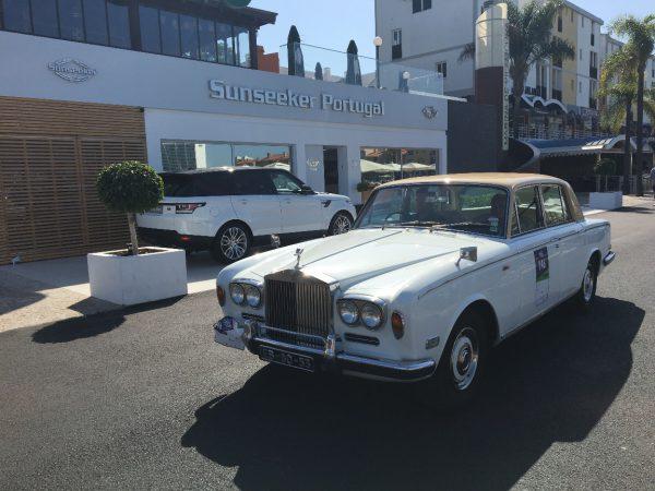 Sunseeker Portugal report on the 'Algarve Classic Cars' race in Vilamoura Marina