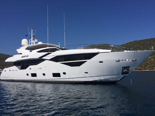 Sunseeker Turkey announce a successful handover of their first Sunseeker Yacht 116 'SESAME'
