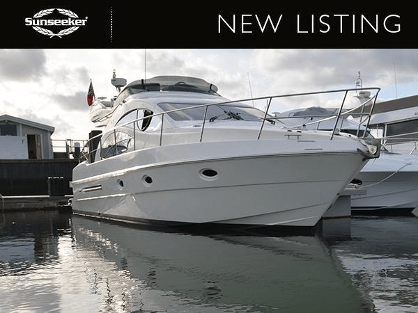 NEW LISTING: Sunseeker Southampton annouce the central listing of the lovely Azimut 42 Evolution 'AZURA SKY'