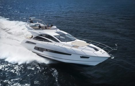 The stunning 68 Sport Yacht will be available to view at the 'Summer Nights' event