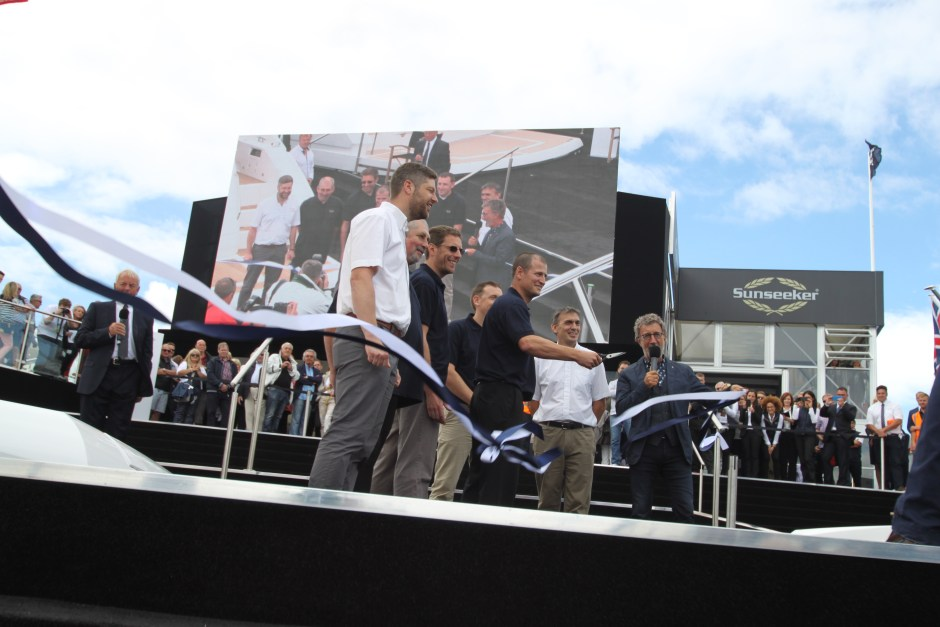 BOAT SHOW UPDATE: Successful start to the Southampton Boat show on the Sunseeker Stand!
