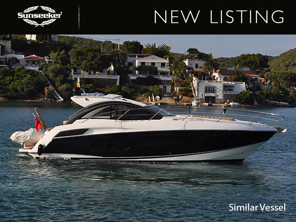 NEW LISTING: SUNSEEKER MALLORCA ANNOUNCE NEW LISTING OF THE STUNNING PORTOFINO 40 'STRIPEY HORSE'