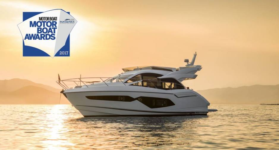 AWARDS: Manhattan 52 wins an award at the annual Motor Boat and Yachting Awards