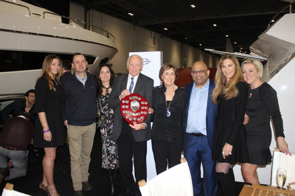 BOAT SHOW: Sunseeker hosts their late night event at the London Boat Show