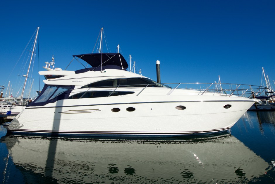 NEW LISTING: James Lumley presents stunning 2005 Princess 50 MkII
