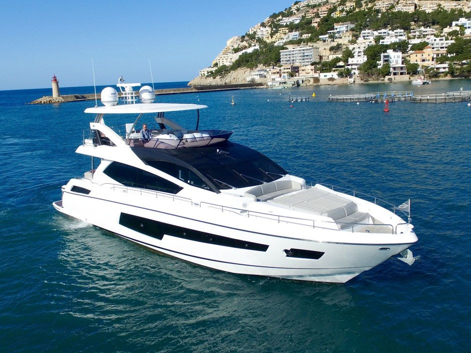NEW LISTING: James Lumley, Sunseeker Southampton presents the 2016 Sunseeker 75 Yacht 'PURA VIDA IV'