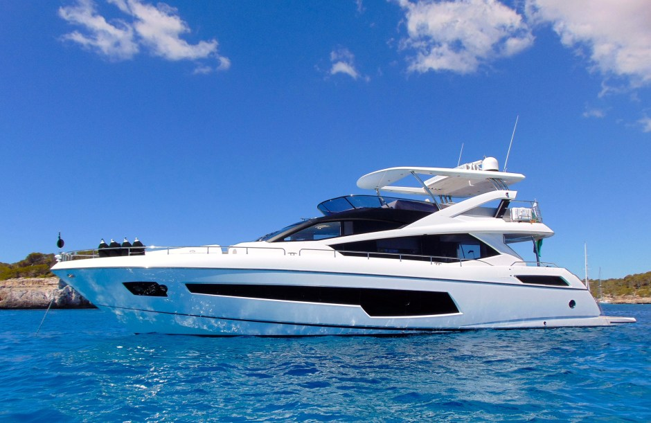 PRICE REDUCTION: Tom Wills announces an attractive price reduction on the Sunseeker 75 Yacht 'GLASAX'